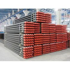 Wireline Heat Treatment HWT / Q Series Steel Core Dril Rod Geological Casing Tubes
